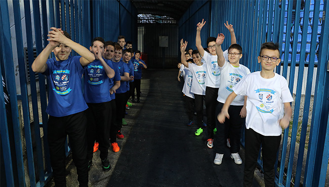 Gosti mladi nogometaši Mladosti