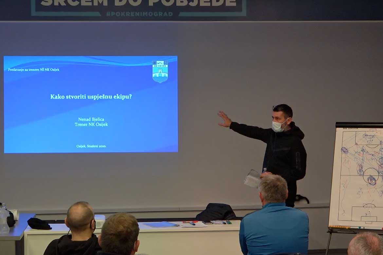 Bjelica održao predavanje kolegama