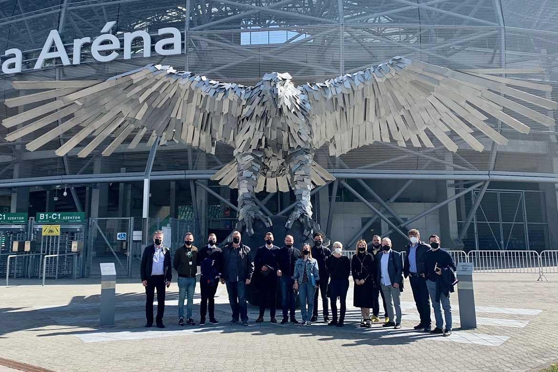 Delegacija Osijeka posjetila Groupama Arenu