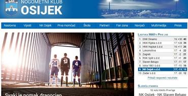 Dobrodošli na novu web-stranicu NK Osijeka
