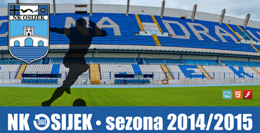 NK OSIJEK 360° u sezoni 2014/2015