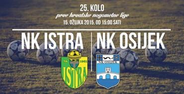 UŽIVO: NK Istra - NK Istra Pula