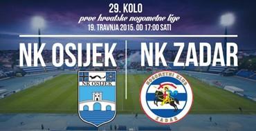 Osijek nema pravo na kiks, a pobjednička tradicija daje dodatni poticaj pred gostovanje Zadra