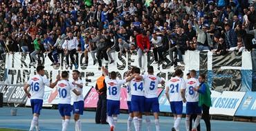 Osijek - Zadar 2:1: Junačina Neven Laštro donio tri boda pogotkom u posljednjim trenucima