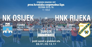 KRONOLOGIJA: NK Osijek - HNK Rijeka