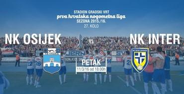 KRONOLOGIJA: NK Osijek - NK Inter