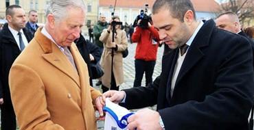 Princu Charlesu uručen dres NK Osijek