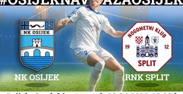 LIVE txt: NK Osijek vs RNK Split