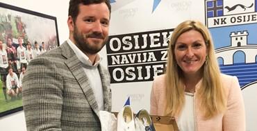 A minden idők legjobb horvát sportolónőjének ujabb látogatása Eszékre