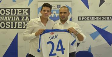 Karlo Lulić i službeno u Osijeku