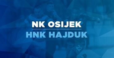 Live TXT: NK Osijek - HNK Hajduk