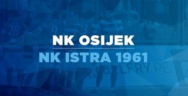 Live TXT: NK Osijek - NK Istra 1961