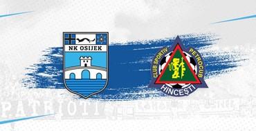 Live TXT: NK Osijek - FC Petrocub