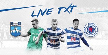 Live TXT: NK Osijek - Rangers FC