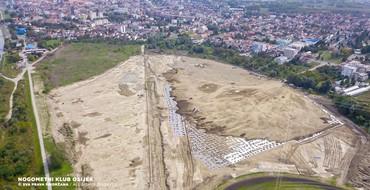 Radovi na gradilištu Pampas