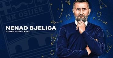 Nenad Bjelica novi trener Osijeka