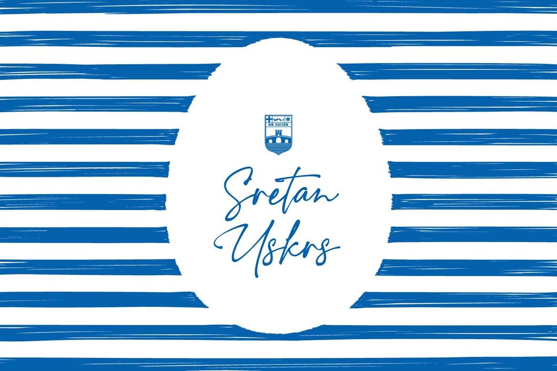 NK Osijek vam želi sretan Uskrs!