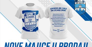 U prodaji majice bijelo-plavih rekorda