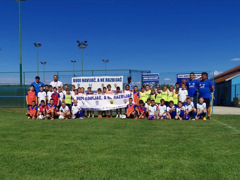 Osijek i FEŠK održali zajednički kamp za najmlađe