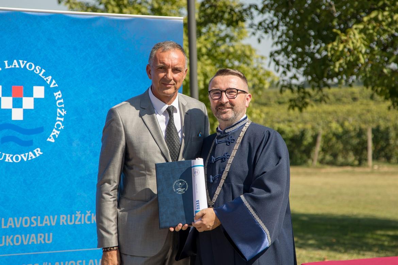 NK Osijek zahvalnica Veleučilišta